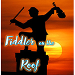 Logo for Fiddler on the Roof Thespis costume hire
