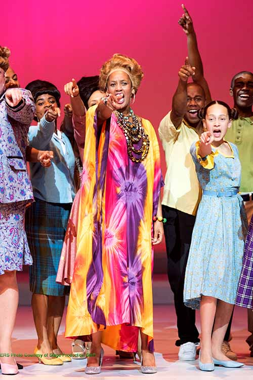 Hairspray - Motormouth Maybelle in colourful kaftan