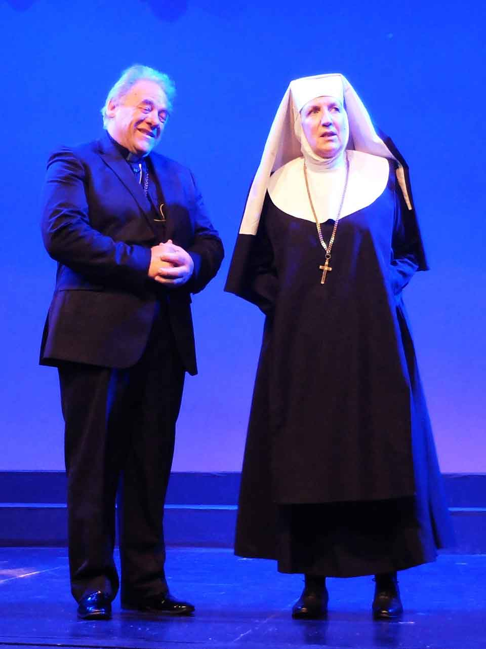 Sister Act-Mons O'Hara with Mother Superior