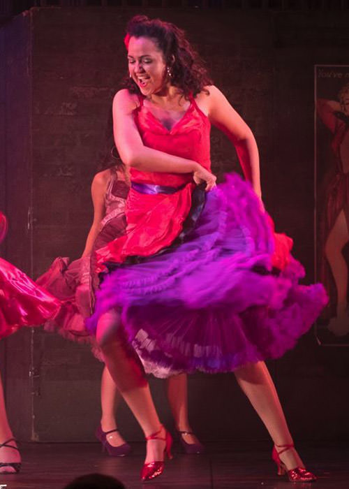 Stunning red Latino dress.  Scene from West Side story, I want to be in America.