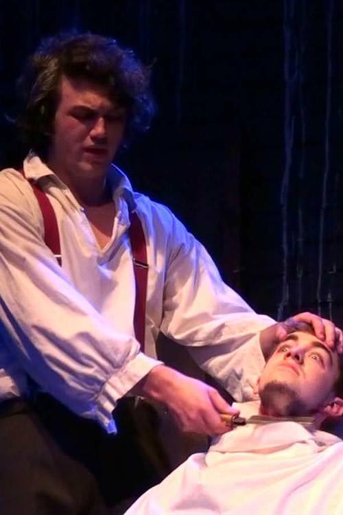 Death of Judge Turpin by Sweeney Todd