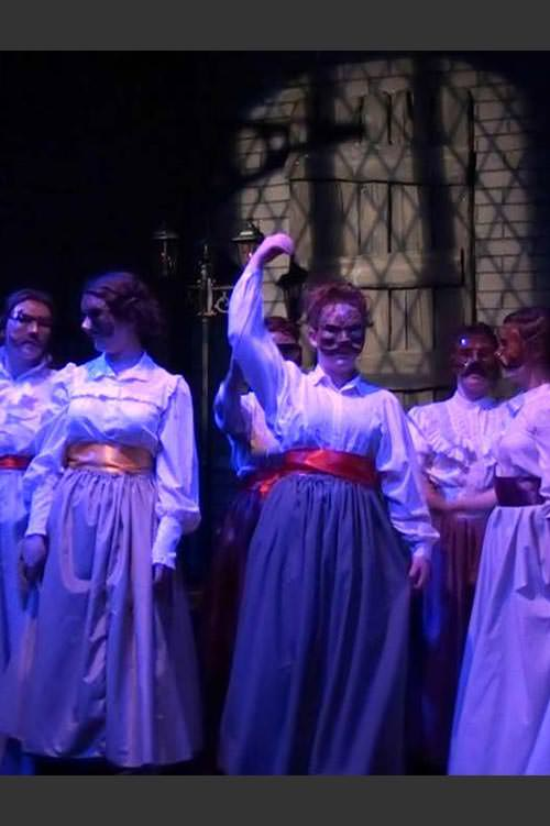 Sweeney Todd - Chorus in masked ball