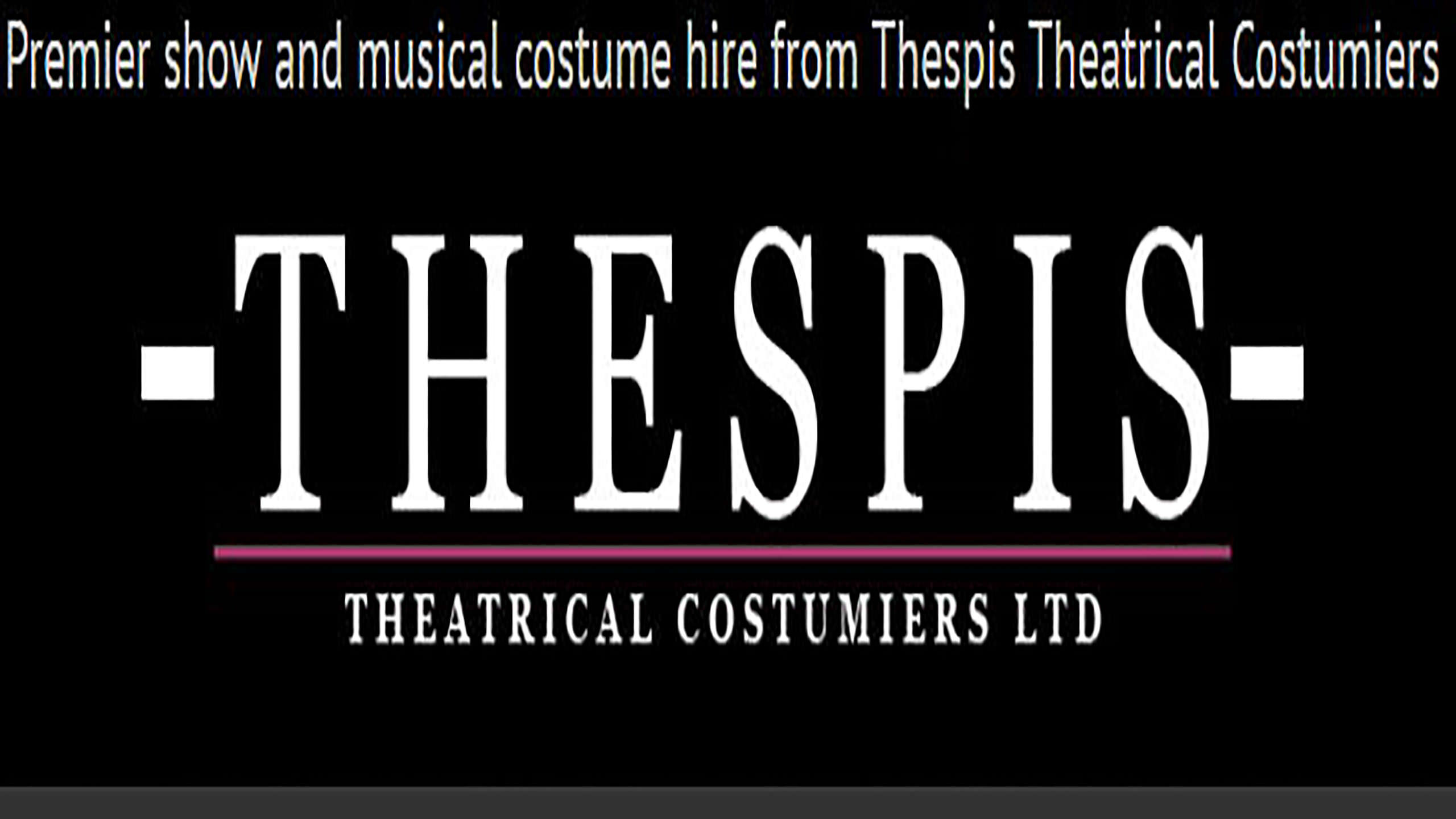 Thespis Theatrical Costume Hire Logo