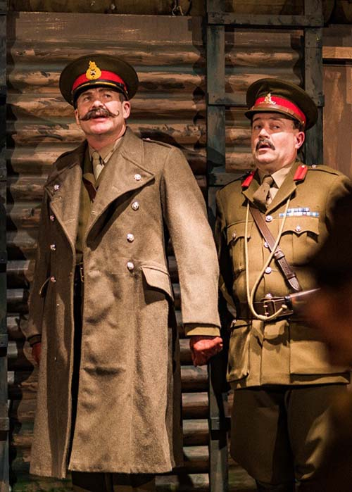 Blackadder Goes Forth General Melchett & Field Marshal Haig costume