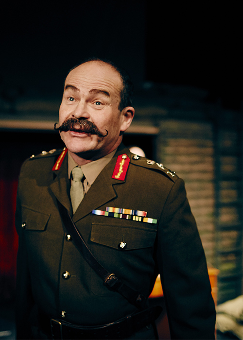 Blackadder Goes Forth General Melchett  Field Marshal Haig costume hire Blackadder goes forth
