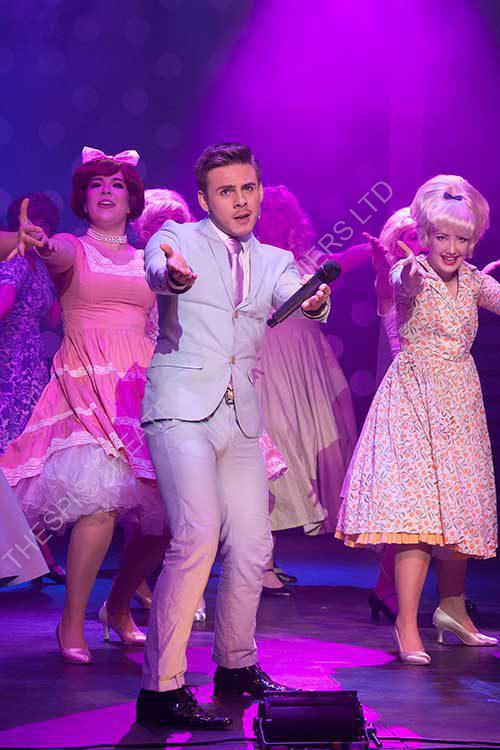 Link Dancing . Scene from Hairspray the Musical.