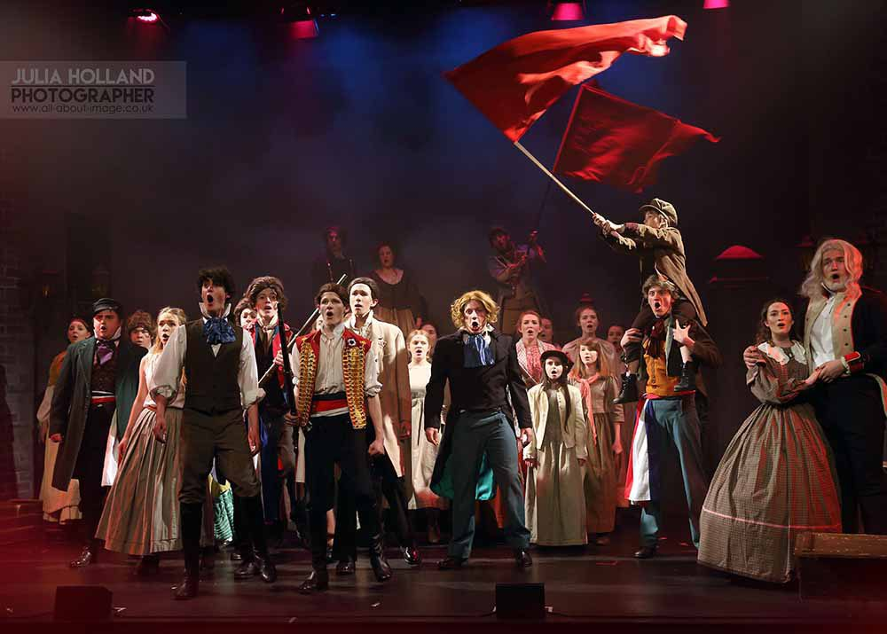 To the barricade. Scene from Les Miserables. Stunning Costumes for  hire.