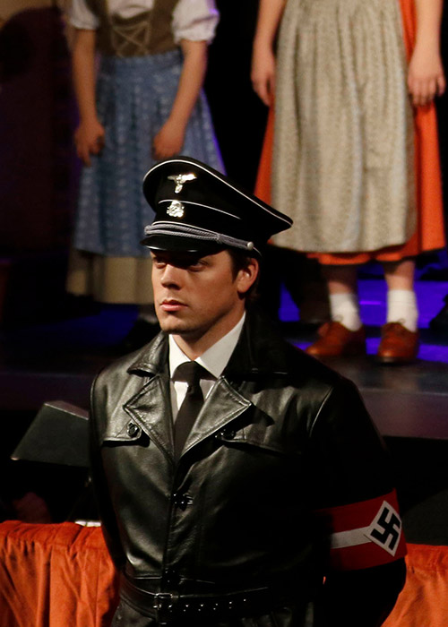 Sound of Music Nazi soldiers uniform