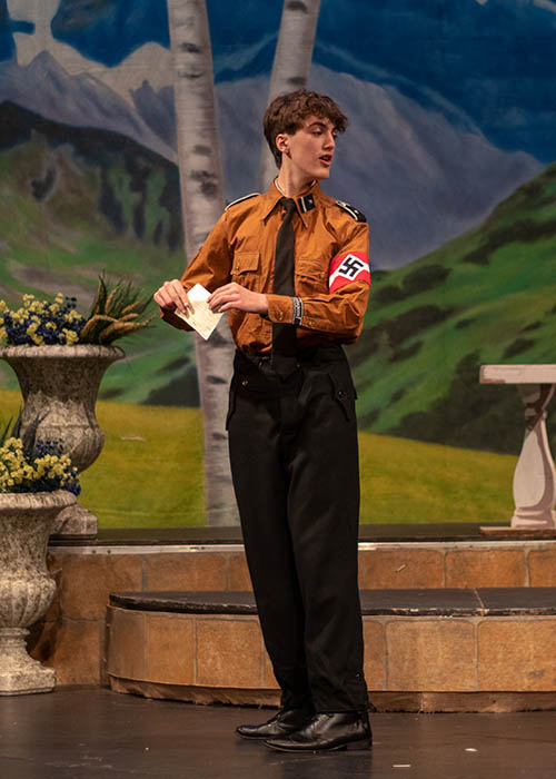 Sound-of-Music costume hire-Rolf Gruber, the 17-year-old Nazi delivery boy who is in love with Liesl-Nazi hitler jugend