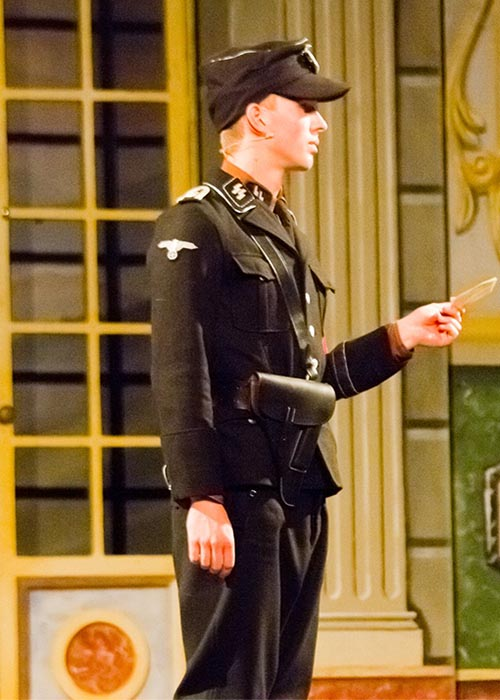 Sound of Music costume hire Rolf Gruber the 17 year old Nazi delivery boy who is in love with Liesl Nazi Hitler jugend