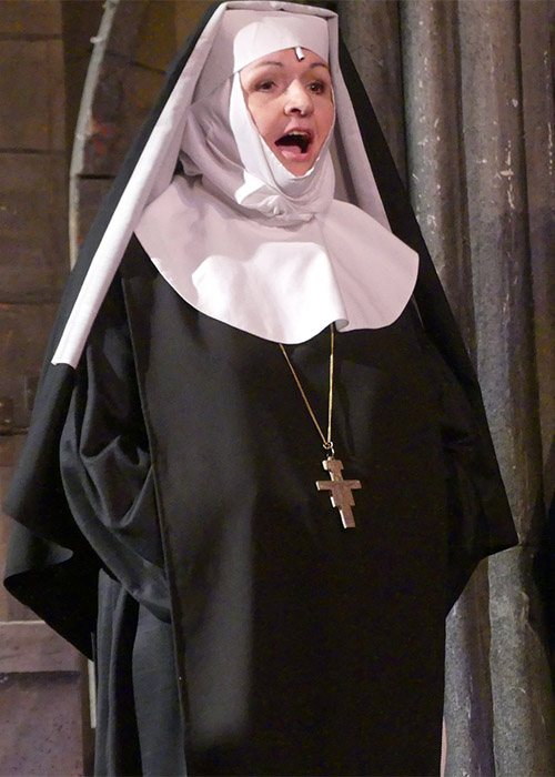 Sound of Music costume hire The Mother Abbess the head of Nonnberg Abbey
