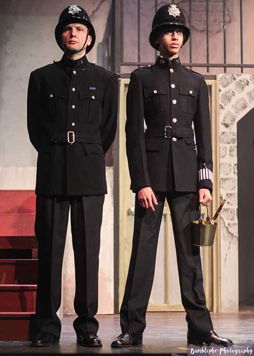 1940 Police uniform rental