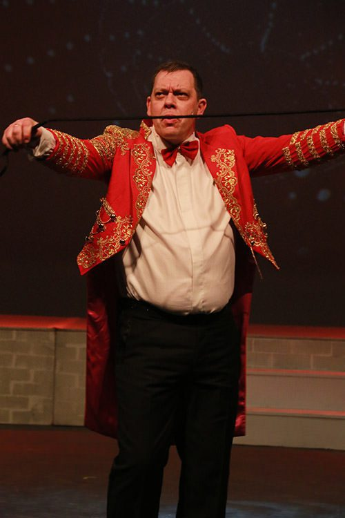 Barnum Ring Master Costumes for hire Thespsis Theatrical