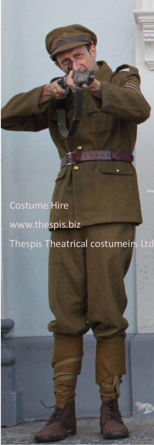 British Military WW1.   Uniform hire by Thespis Costumiers