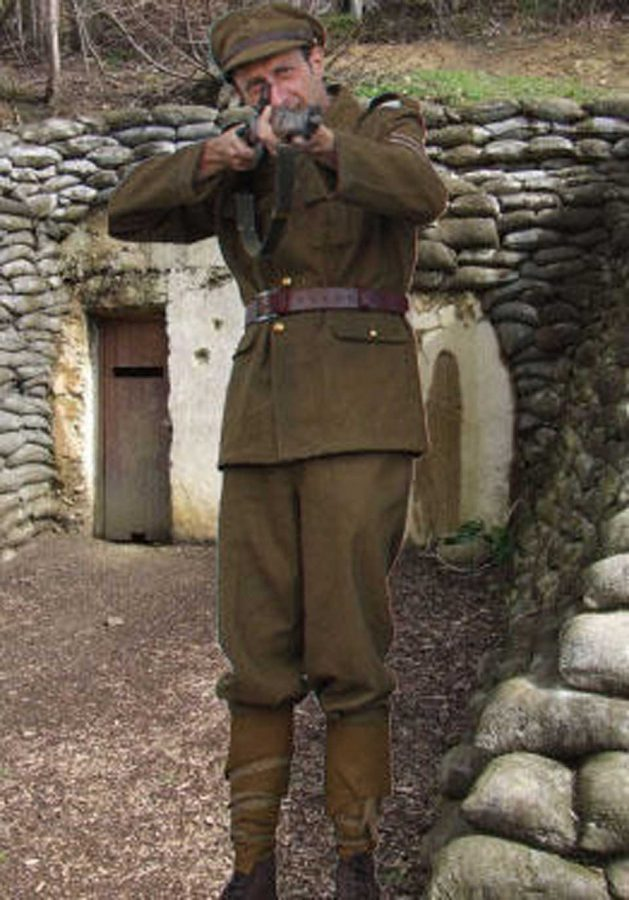 WW1 Uniform British. Hire