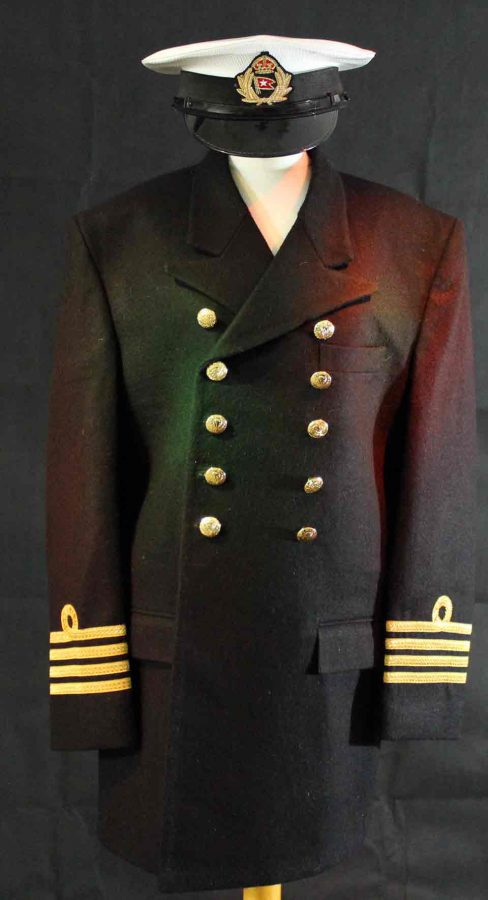 White Star uniform Captain Edward Smith. Titanic